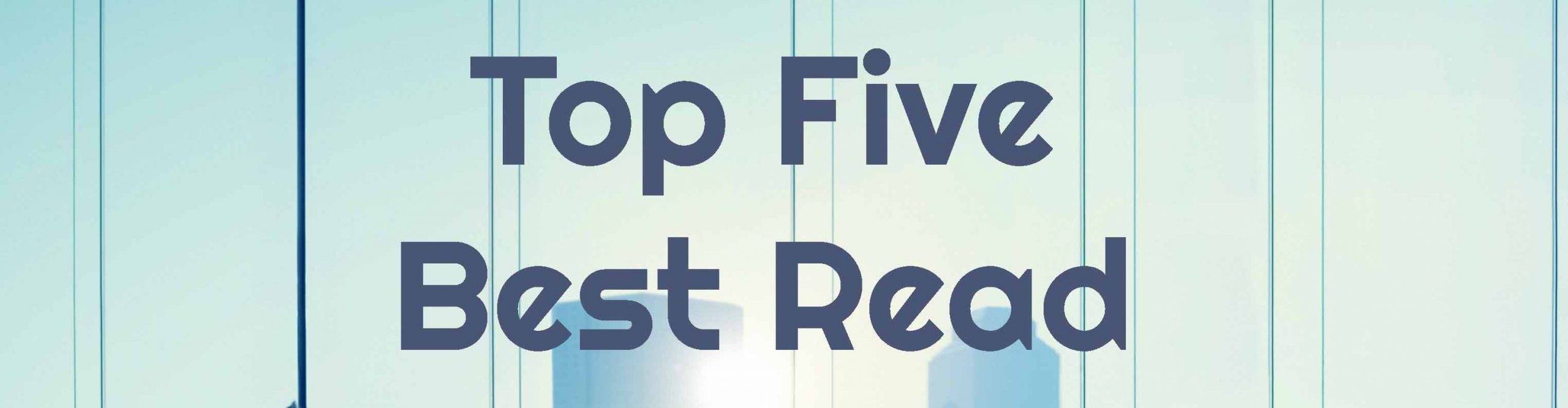 Hans Rosling and 'Scary Statistics' made it into our Top Five!