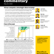 Virus compels a strategic view revamp