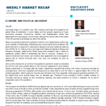Weekly recap: Economic And Political Backdrop