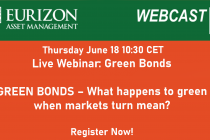 Eurizon AM – Webinar – Green Bonds: What happens to green when markets turn mean?