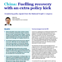 China: Fuelling recovery with an extra policy kick
