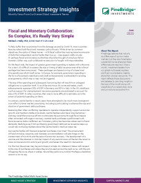 Fiscal and Monetary Collaboration: So Complex, It's Really Very Simple