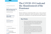The COVID-19 Crash and the Abandonment of the Pensioner