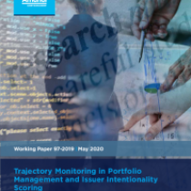 Trajectory Monitoring in Portfolio Management and Issuer Intentionality Scoring