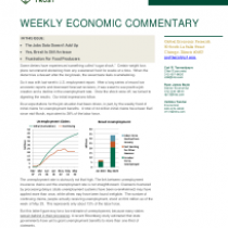 Weekly Economic Commentary – The Jobs Data Doesn't Add Up