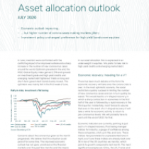 Asset allocation outlook
