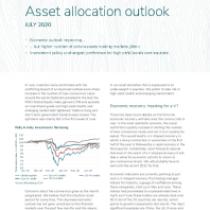 Asset allocation outlook