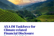 AXA IM Taskforce for Climate-related Financial Disclosure