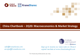 China Chartbook – 2Q20: Macroeconomics & Market Strategy