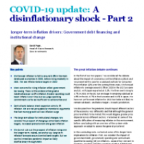 COVID-19 update: A disinflationary shock – Part 2