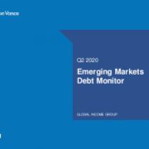 Emerging Markets Debt Monitor Q2 2020