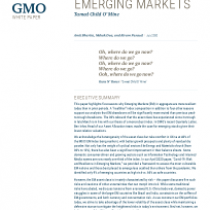 Emerging markets – Tamed Child O' Mine