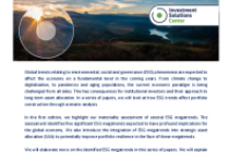 ESG Megatrends: Implications for Strategic Asset Allocation