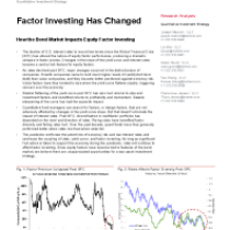 Factor Investing Has Changed