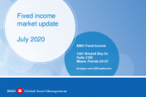 Fixed income market update July 2020