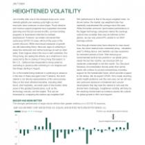 Heightened Volatility