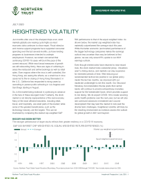 Heightened Volatility