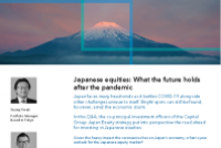 Japanese equities: What the future holds after the pandemic
