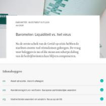Liquiditeit vs. het virus