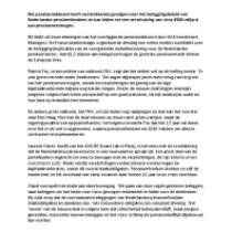 Nederlands pensioenakkoord heeft grote beleggingsimplicaties