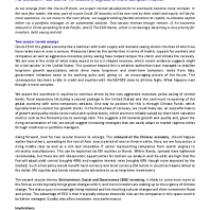 Post Covid-19 recovery signals a more complex market