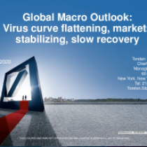Virus curve flattening, markets stabilizing, slow recovery