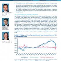 Why USD Fixed Income may look increasingly attractive to European investors