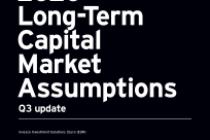 2020 Long-Term Capital Market Assumptions Q3 update