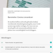 Barometer: Corona conundrum