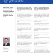 High yield update