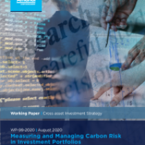 Measuring and Managing Carbon Risk in Investment Portfolios
