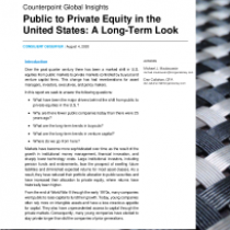 Public to Private Equity in the United States: A Long-Term Look