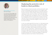 Replacing the protective role of bonds in client portfolios