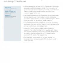 Softening high-yield fundamentals signal caution following Q2 rebound