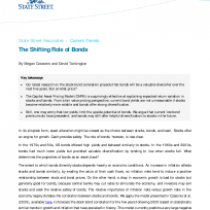 The Shifting Role of Bonds