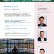 Thema: Value sectorneutraal