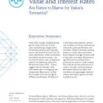 Value and Interest Rates