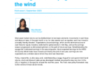 Asset allocation update: leaning selectively against the wind