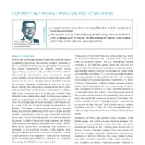 CIO View – Investment Traffic Lights