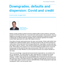 Downgrades, defaults and dispersion: Covid and credit