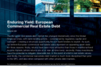 Enduring Yield: European Commercial Real Estate Debt