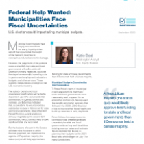 Federal Help Wanted: Municipalities Face Fiscal Uncertainties