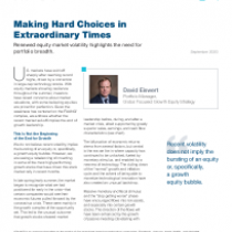 Making Hard Choices in Extraordinary Times