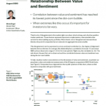 Making Sense of the Extreme Relationship Between Value and Sentiment