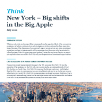 New York – Big shifts in the Big Apple