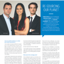 Re-sourcing our Planet