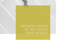 Refining alpha in the hedge fund world