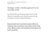 Strategic credit: a nimble approach for an uncertain world