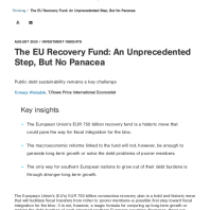 The EU Recovery Fund: An Unprecedented Step, But No Panacea