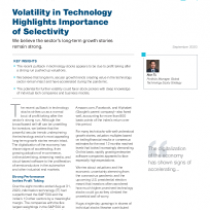 Volatility in Technology Highlights Importance of Selectivity